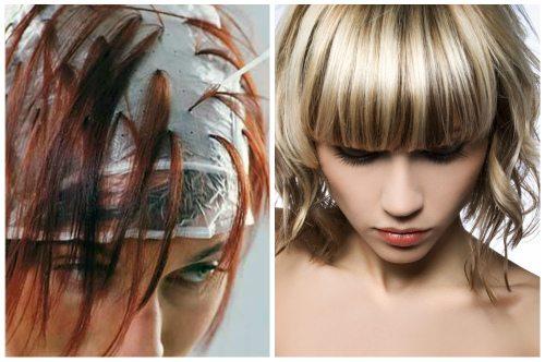 Колорирование волосы фото в домашних условиях 877
