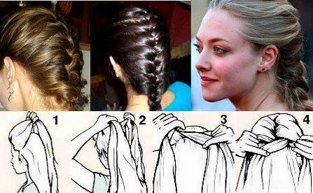 Как плести французскую косу?
