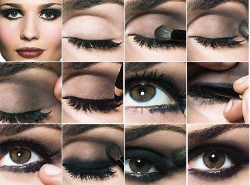 Как Правильно Красить Глаза Тенями Пошаговая Инструкция Смоки Айс
