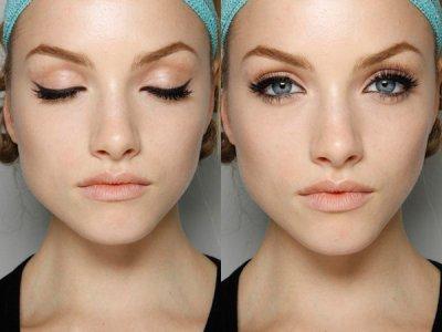 как накрасить красивые стрелки глаз с фото