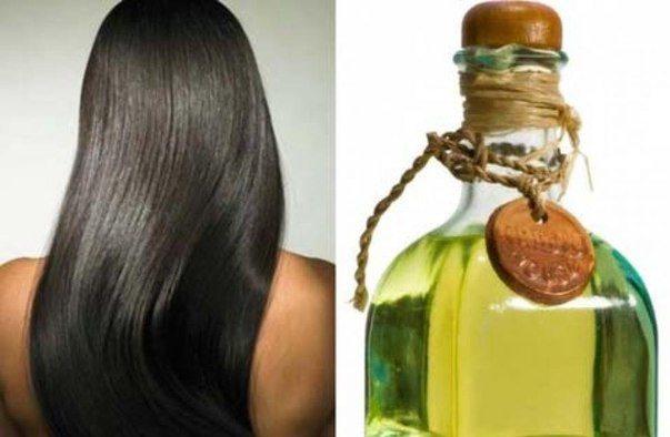 Как сделать оливковое масло на волосы