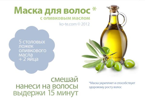 Маски для волос с оливковым маслом, самые популярные рецепты.