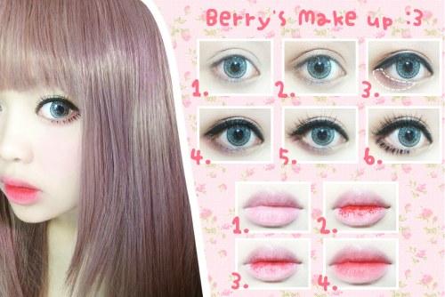 Как сделать макияж чтобы были глаза как у куклы