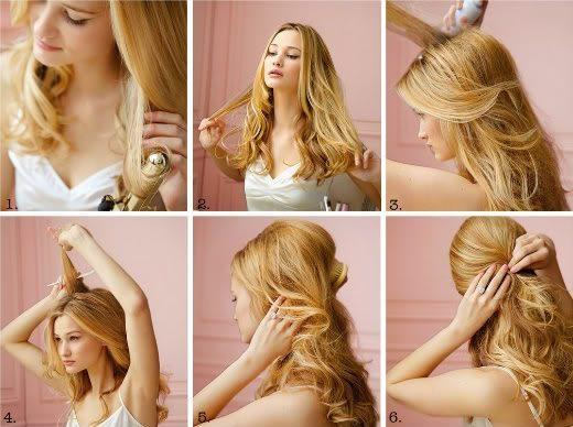 Красивые прически с накрученными волосами в домашних условиях