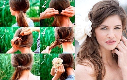 Простые причёски на лето