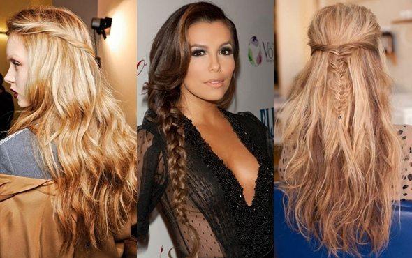 модные прически для длиных волос