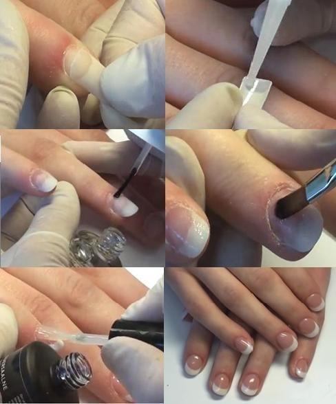 Как сделать формы для наращивания ногтей в домашних условиях