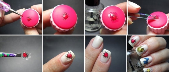 Дизайн на ногти стемпинг