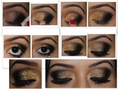 Как сделать вечерний макияж в домашних условиях для зеленых глаз 4