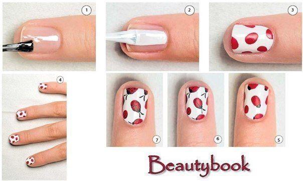 Дизайн ногтей телесного цвета с блестками