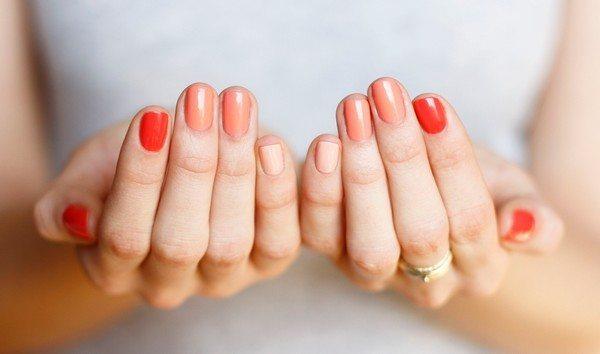 Природные формы ногтей могут