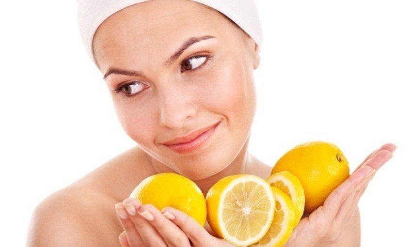 Отбеливающие маски из лимонной кислоты