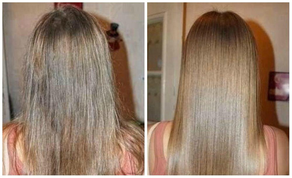Удаление секущихся волос по всей длине полировка