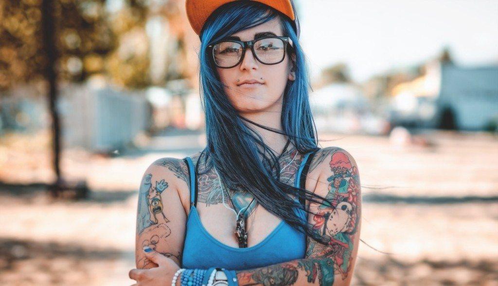 Татуировки у женщин девушек в интимных местах 20 фотография