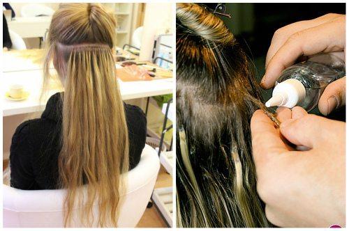 Снять капсулы в домашних условиях нарощенные волосы