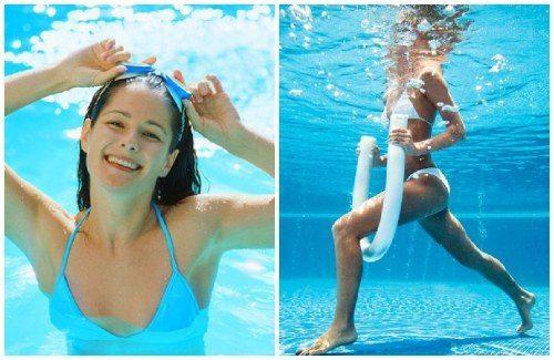 Как правильно похудеть в бассейне