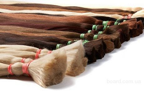 разные по цвету пучки волос