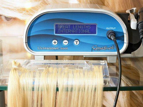 ультразвуковой аппарат  с прядями