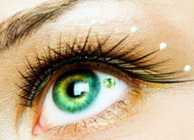 пирсинг в глазу