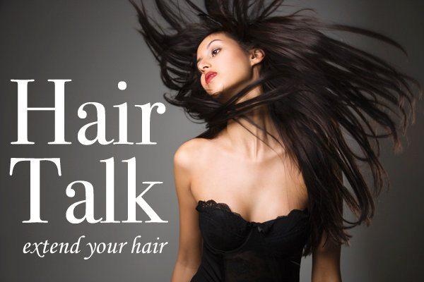 Девушка Hair Talk