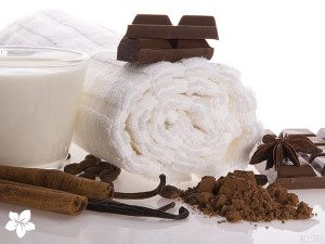 шоколад и полотенце