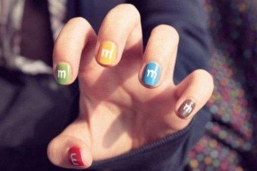 рисованные ногти