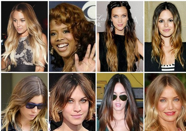 выгоревшие волосы у девушек