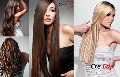 наращивание волос Cre Cap
