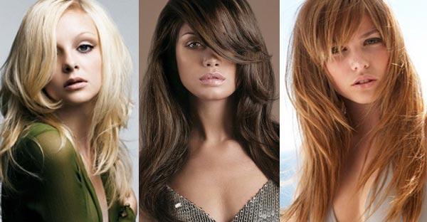 вариации на длинные волосы