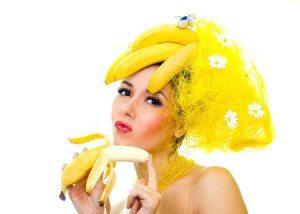 банан для роста волос