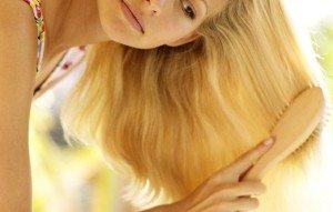 причесывание волос