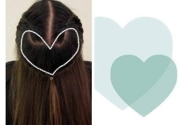 коса сердце этап 5