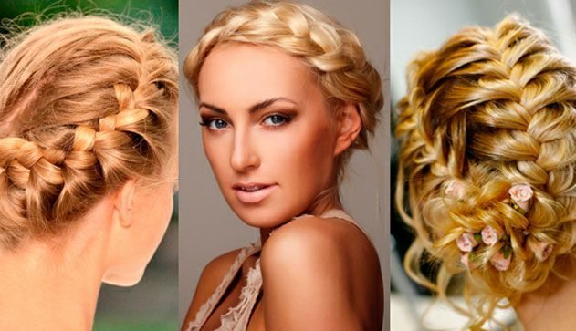 девушки с красивыми косами