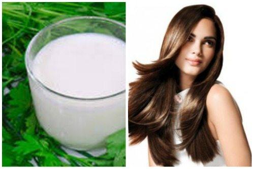 Маска для ломких волос с витаминами
