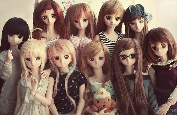 аниме куколки