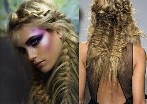 романтичные косы