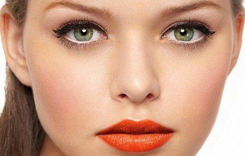 макияж зрительно увеличивающий глаза