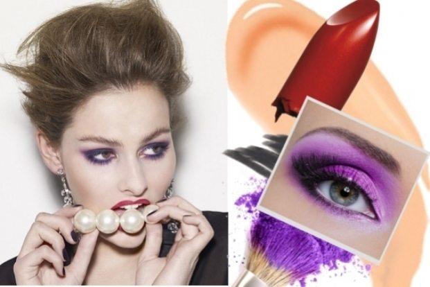 макияж в ярких тонах