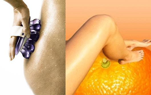 антицеллюлитный массаж массажором и результат от него