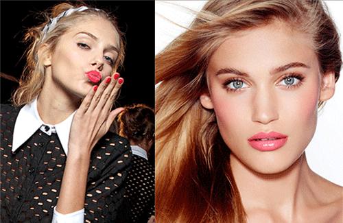 девушки нюд с ягодными губами