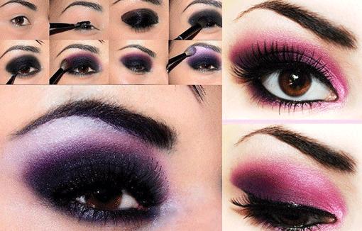 фиолетовый смоки айс