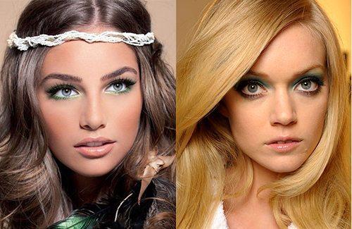 красивый макияж для увеличения глаз