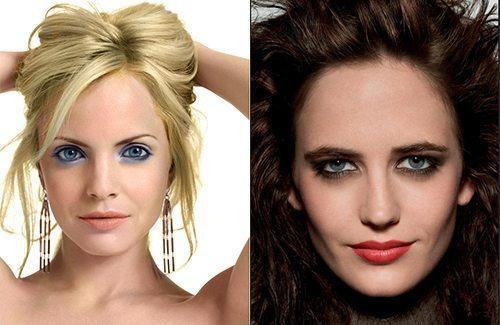 макияж для близко посаженных глаз