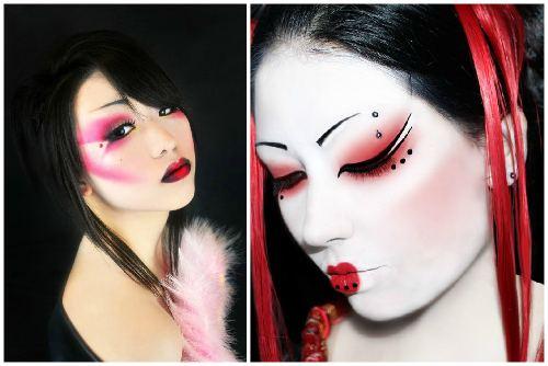 необычный makeup