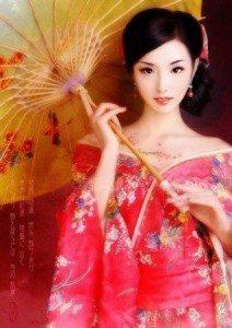 современный образ гейши