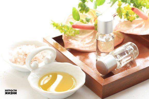 ингредиенты для приготовления средства для мытья головы