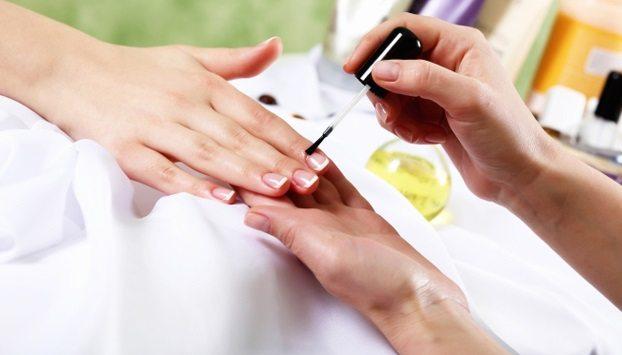 укрепление ногтевой плавстины гелем с био формулой