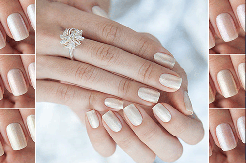 ноготки невесты