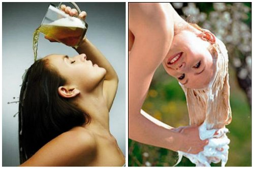 средство для роста шевелюры из пива