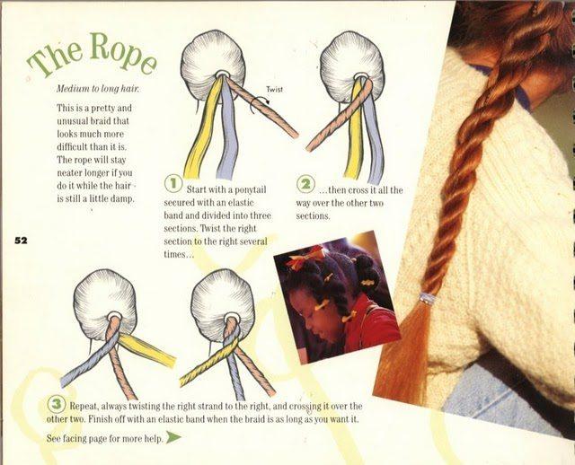 плетение со жгутиками